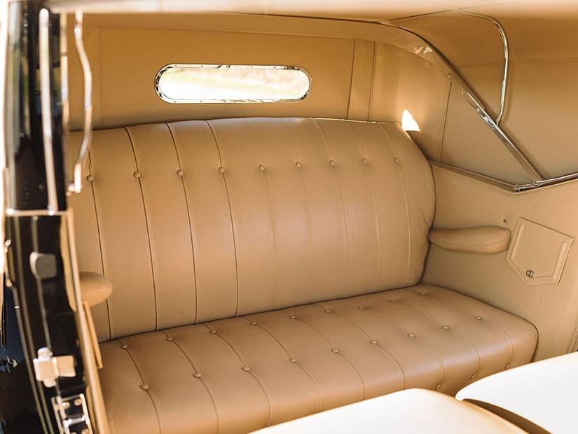 Interior, 1931 Stutz DV-32 Convertible Victoria by Rollston