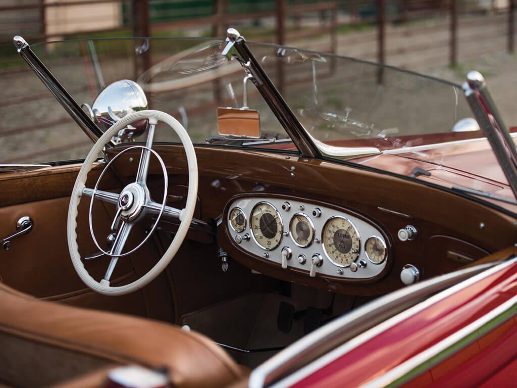 Interior, 1939 Mercedes-Benz 540 K Spezial Cabriolet A