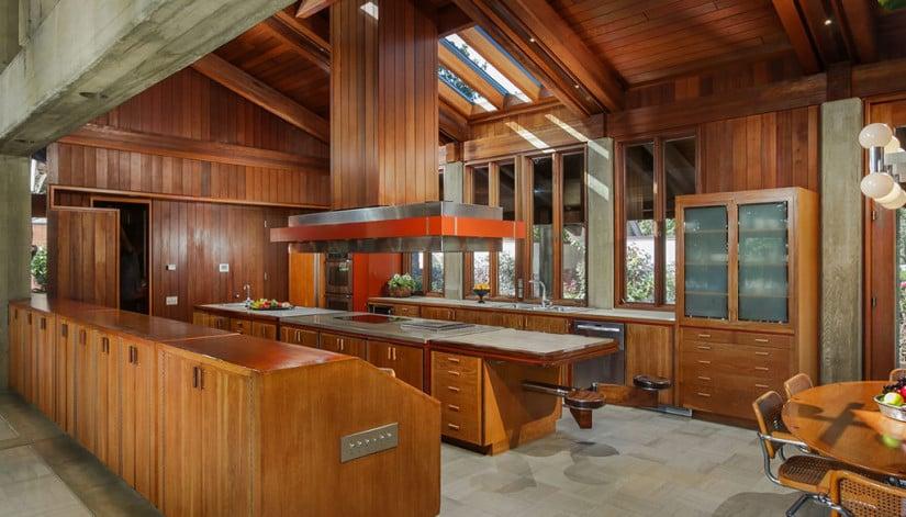 Kitchen, Del Dios Ranch Estate in California