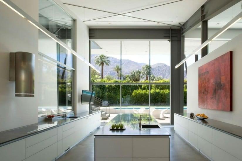 Kitchen, Desert Canopy House by Sander Architects
