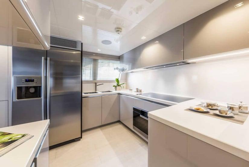 Kitchen, Ferretti Custom Line 108 VARDAR