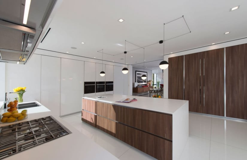 Kitchen, Hollywood Hills Residence