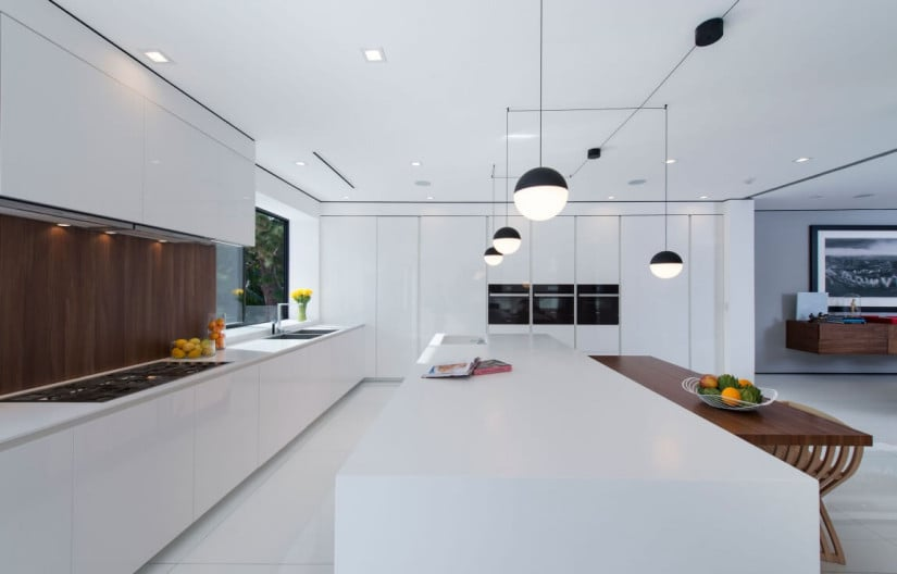 Kitchen, Hollywood Hills Residence by Ori Ayonmike