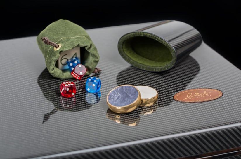 Lieb Manufacktur Backgammon Set