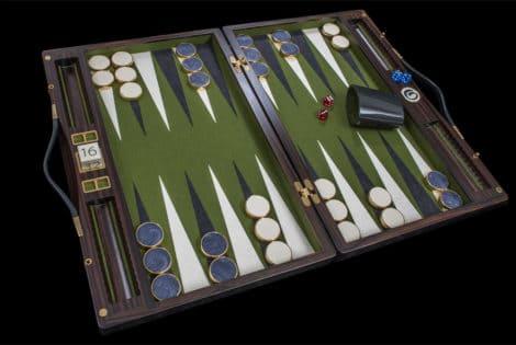 Lieb Manufacktur Exclusive Backgammon Set