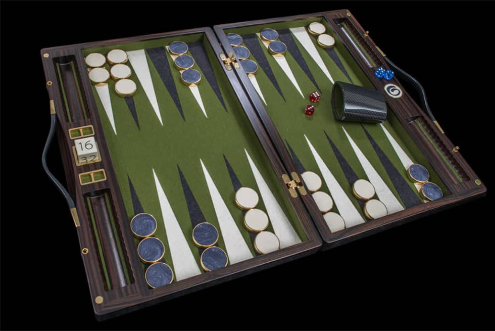 Lieb Manufacktur Exclusive Backgammon Set