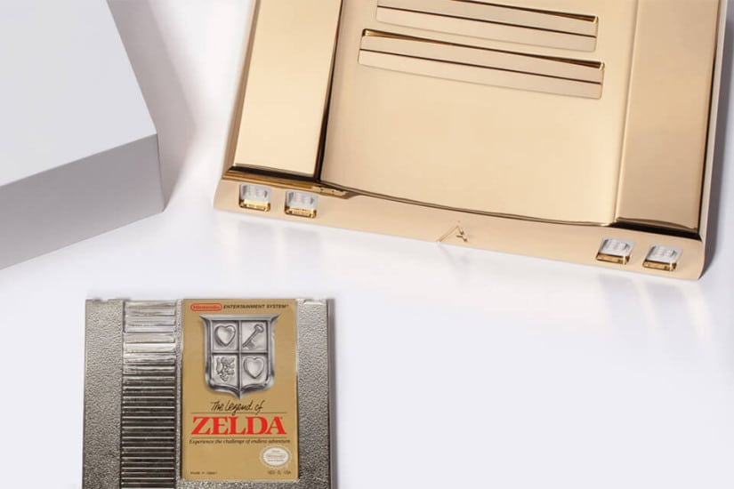 Limited Edition 24K Gold Nintendo Entertainment System