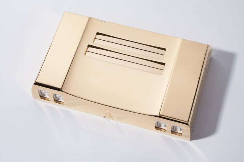 Limited Edition 24K Gold Nintendo System