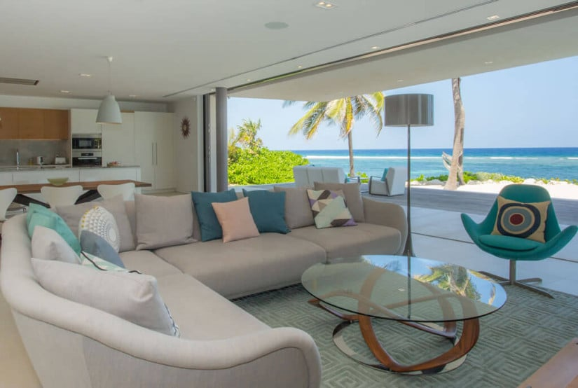 Living Room, Camden House in the Cayman Islands