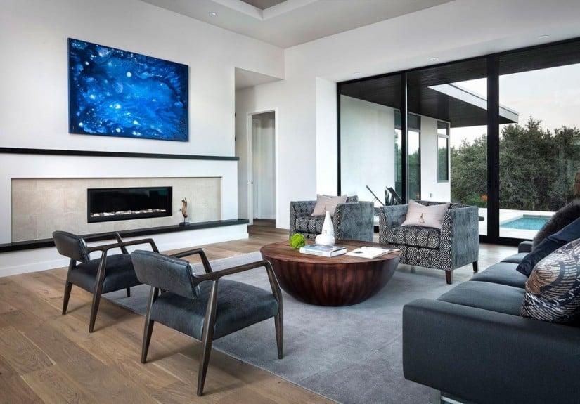 Living Room, Lakeway Residence Luxury Home