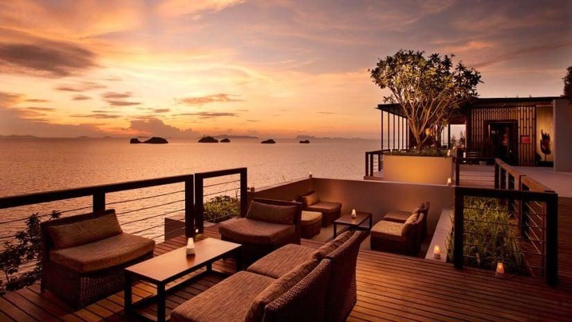 Lounge Area, Luxury Resort Conrad Koh Samui