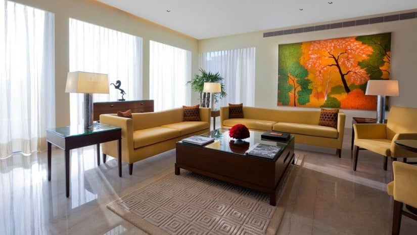 Lounge Area, The Oberoi, Gurgaon