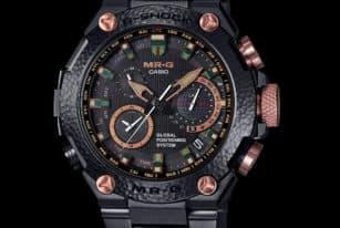 Luxury Casio G-Shock MR-G Hammer Tone