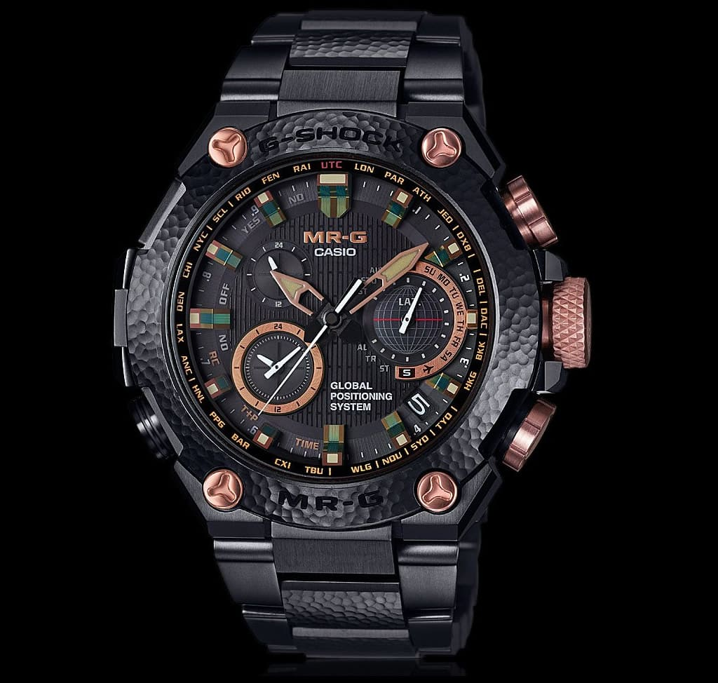 Luxury Casio G-Shock MR-G Hammer Tone