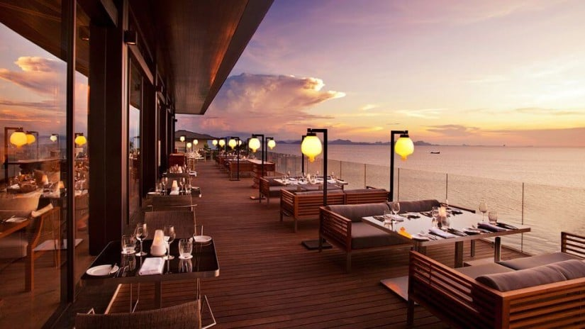 Luxury Resort Conrad Koh Samui, Restaurant