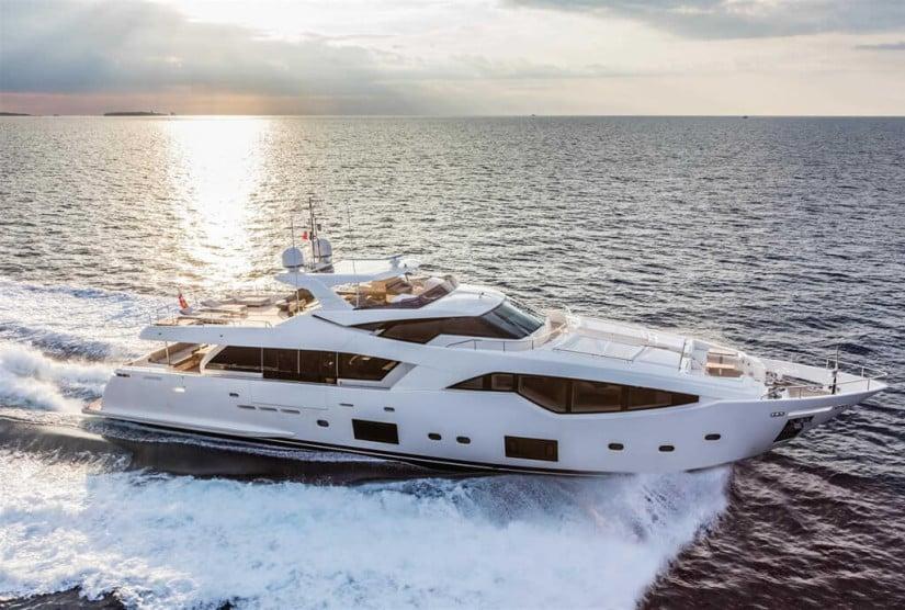 Luxury Yacht by Ferretti and Studio Zuccon