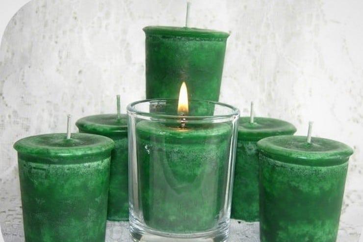 Marijuana Candles