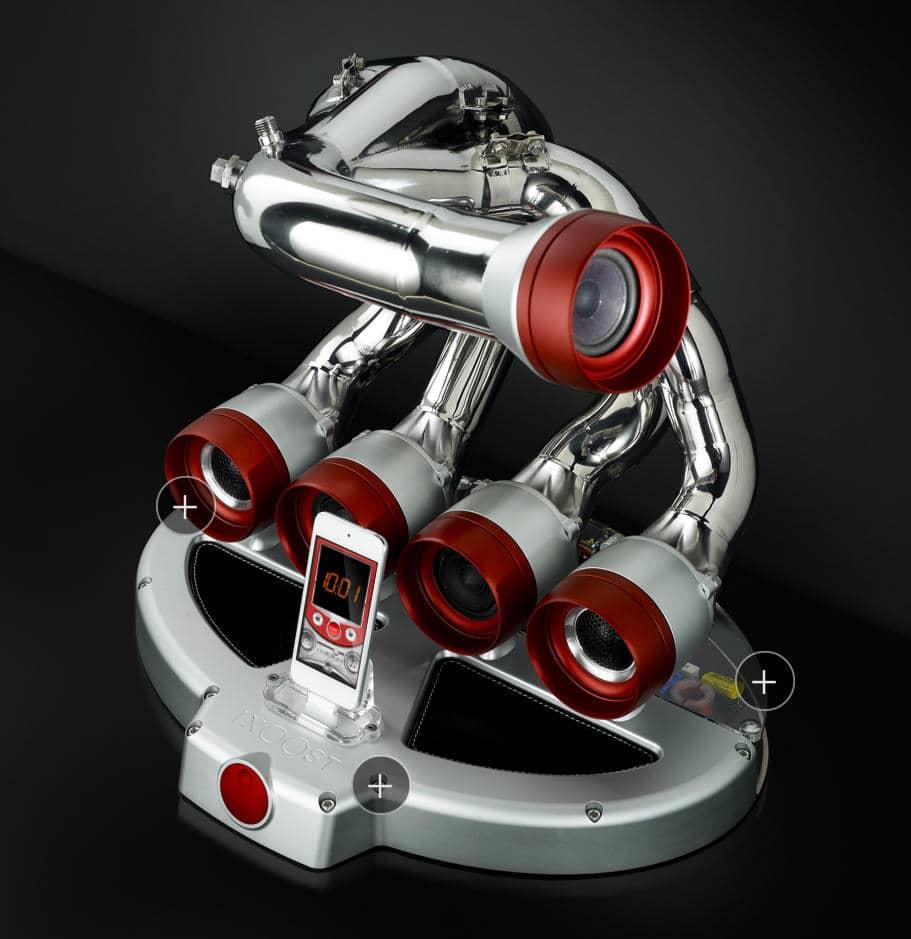 Otto Exhaust Speaker Dock by iXOOST