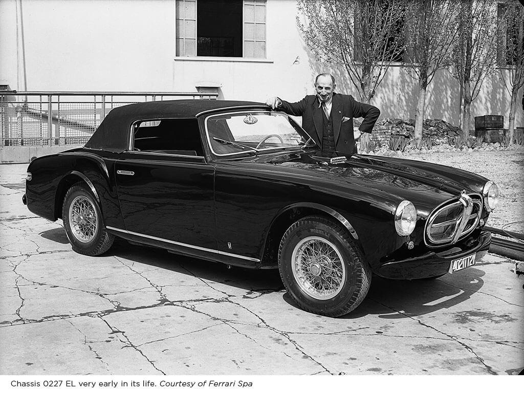 Rare 1952 Ferrari 212 Inter Cabriolet by Vignale