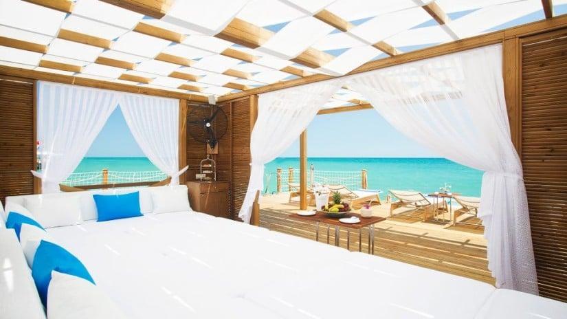 Regnum Carya Golf and Spa Resort, Private Beach