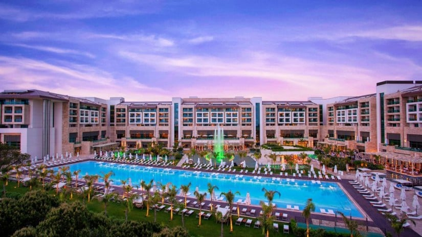 Regnum Carya Golf and Spa Resort on the Turkish Riviera
