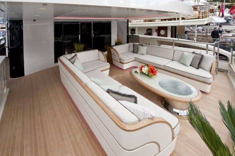 Scorpion Stunning Superyacht by Sanlorenzo, Lounge Area