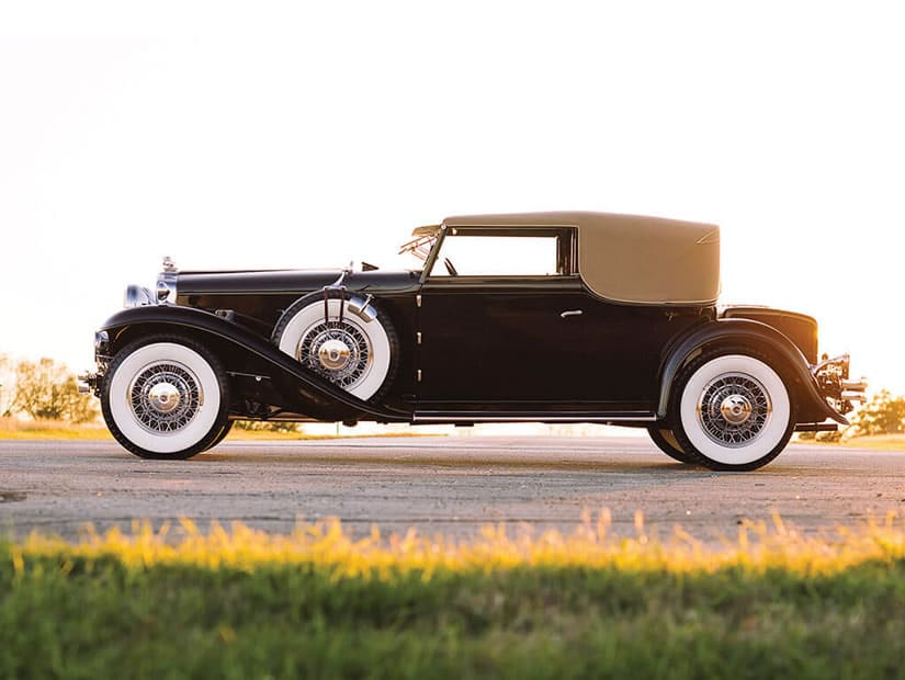 Side View, 1931 Stutz DV-32 Convertible Victoria by Rollston
