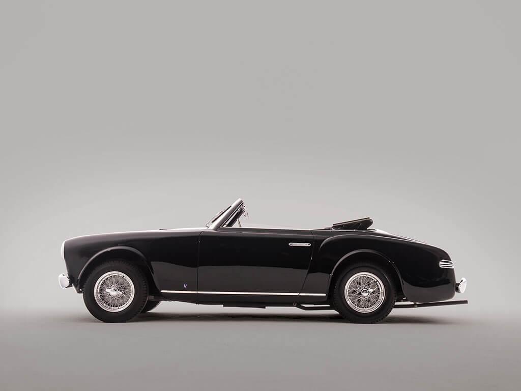 Side View, Rare 1952 Ferrari 212 Inter Cabriolet by Vignale