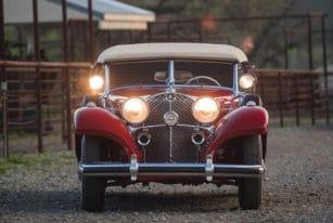 Sindelfingen 1939 Mercedes-Benz 540 K Spezial Cabriolet A