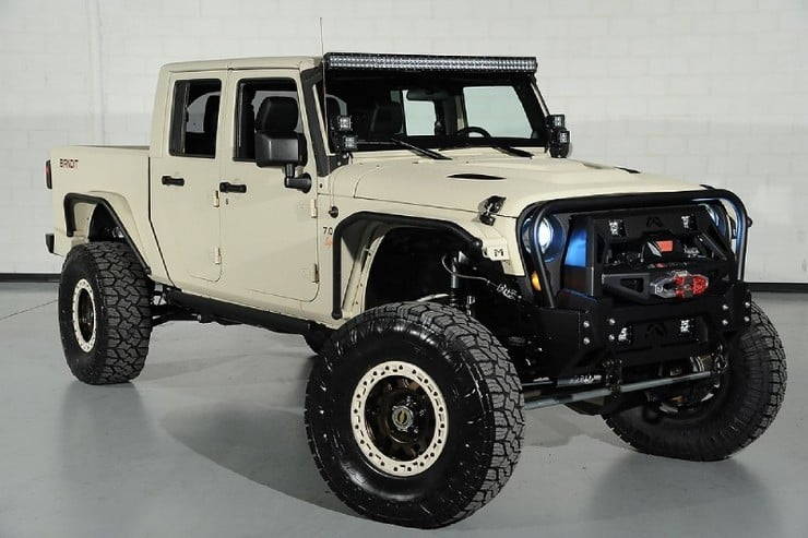 Starwood Motors Custom Jeep Wrangler Bandit 9