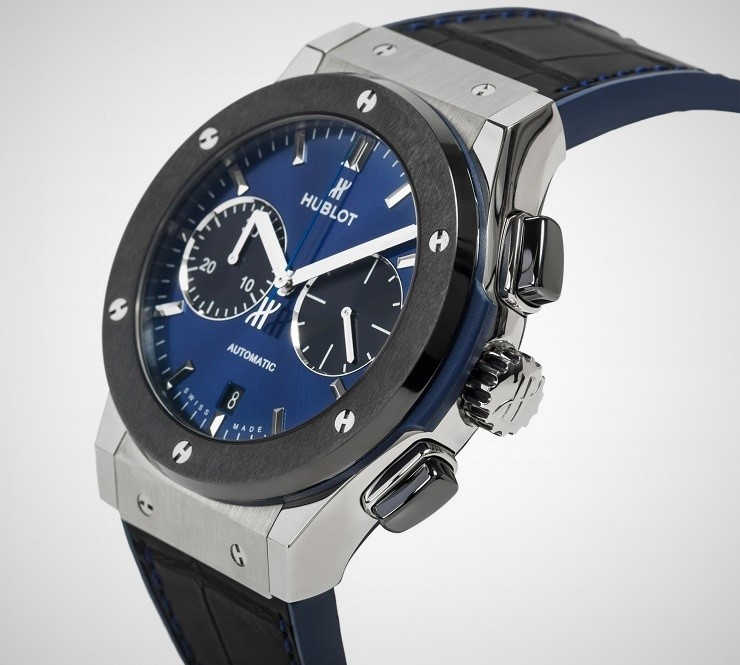 The Watch Gallery X Hublot Special Edition Classic Fusion Chronograph Watch 1