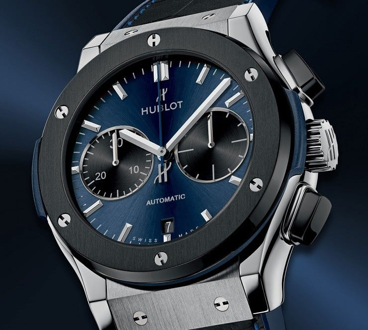 The Watch Gallery X Hublot Special Edition Classic Fusion Chronograph Watch (2)