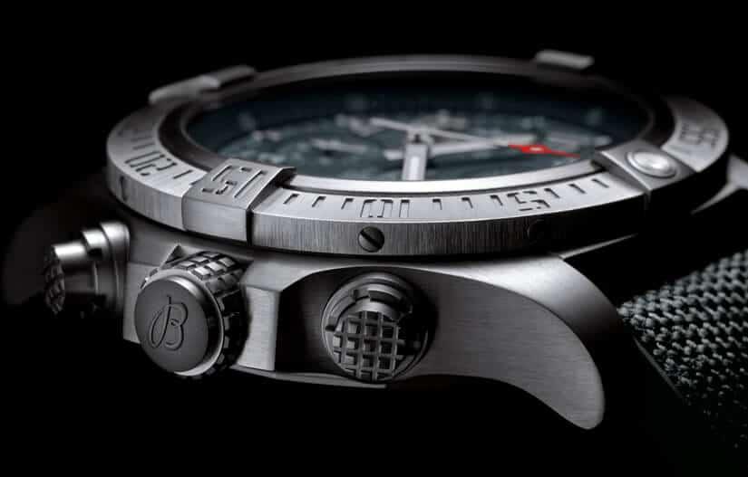 Titanium Case, Avenger Bandit by Breitling