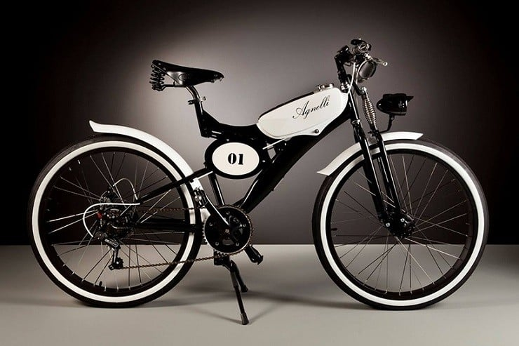 Vintage Electric Bicycles by Luca Agnelli 1
