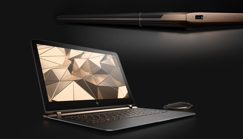 World's Thinnest Laptop HP Spectre