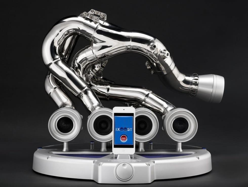 iXOOST Exhaust Speaker Dock
