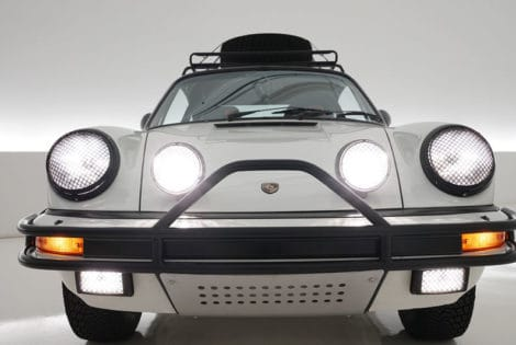 1985 Porsche Carrera Rally Car, Front View