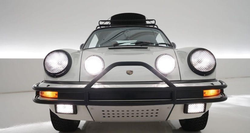 1985 Porsche Carrera Rally Car, Front View