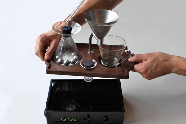 Barisieur Coffee Maker-Alarm Clock 18
