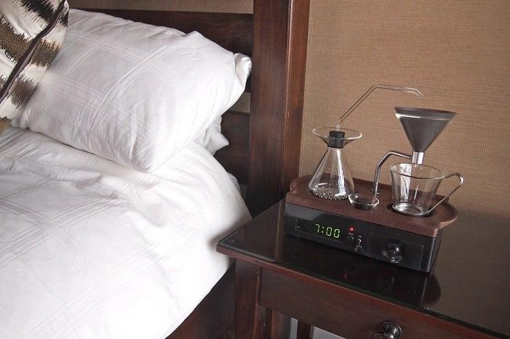 Barisieur Coffee Maker/Alarm Clock 3