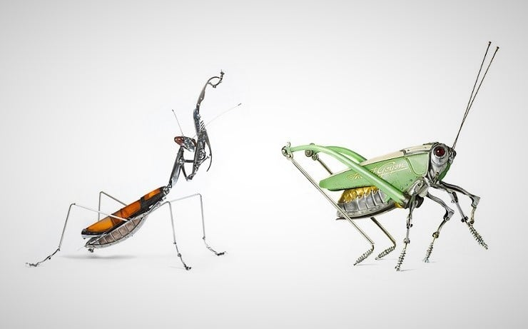 Cast-off Junk Creatures by Edouard Martinet 6