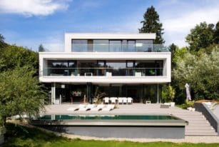 Gorgeous House in Hinterbruhl by Wunschhaus Architektur