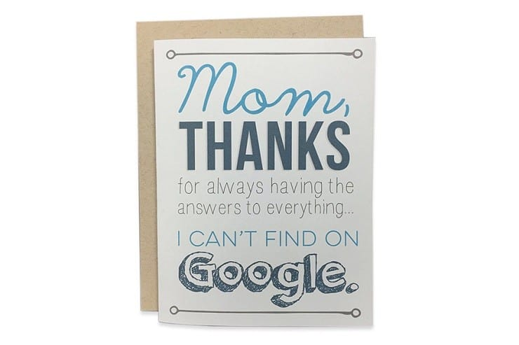 Honest Mother's Day Cards 1