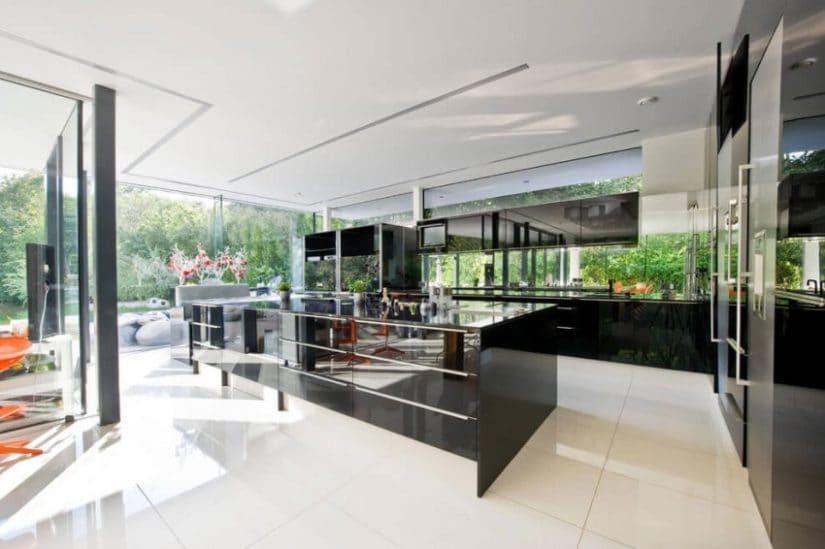 House by Wunschhaus Architektur, Kitchen