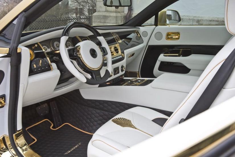 Interior, Mansory Rolls-Royce Wraith Palm Edition 999