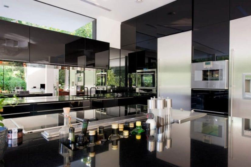 Kitchen, House by Wunschhaus Architektur