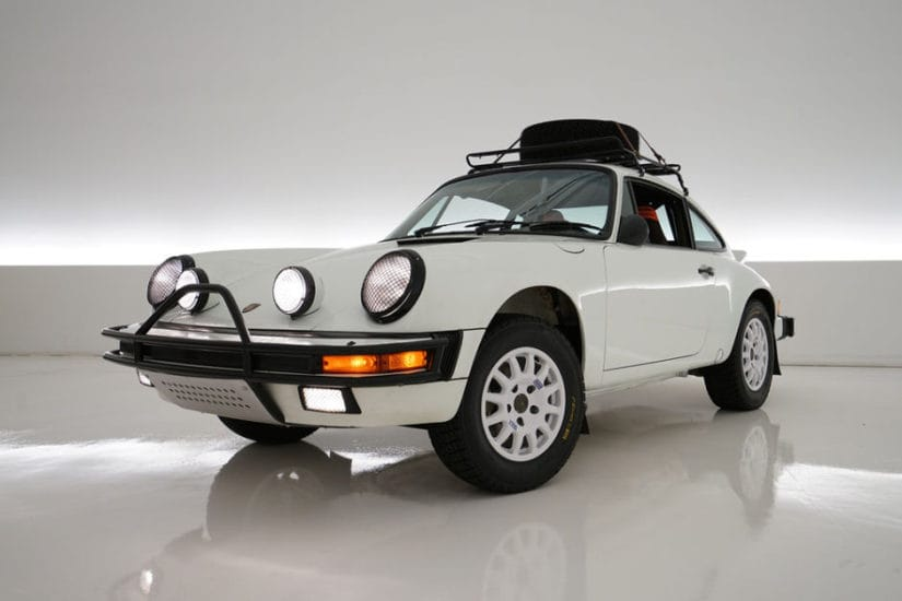Luftgekuhlt 1985 Porsche Carrera Rally Car