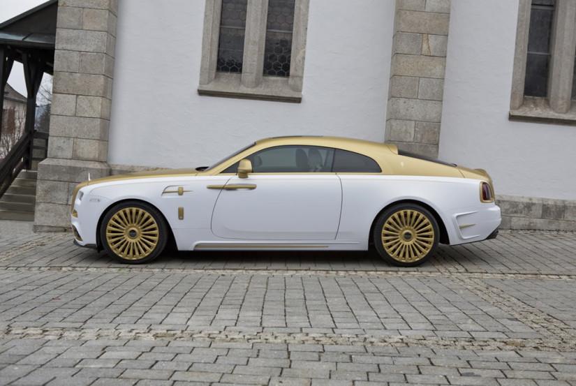 Mansory Rolls-Royce Wraith Palm Edition 999, Side