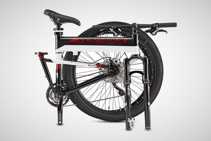 Montague Paratrooper Folding Mountain Bikes 1