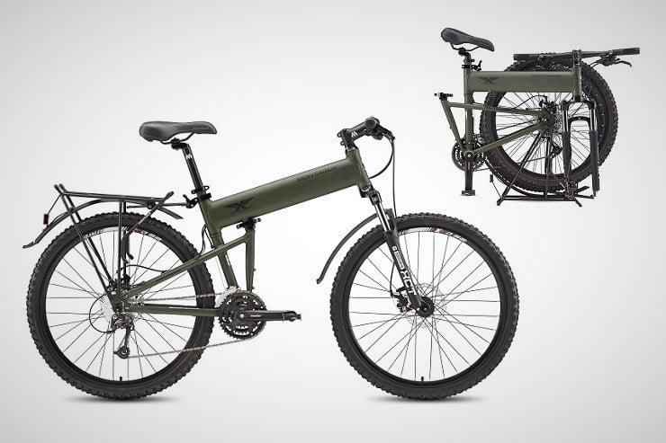 Montague Paratrooper Folding Mountain Bikes 5